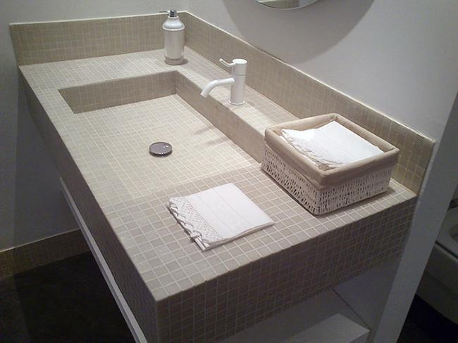bain de carrelage